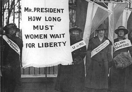 Suffragist-Picketing
